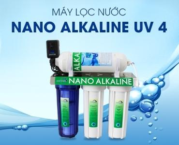 Máy Nano Alkaline UV 4 diệt khuẩn uống liền