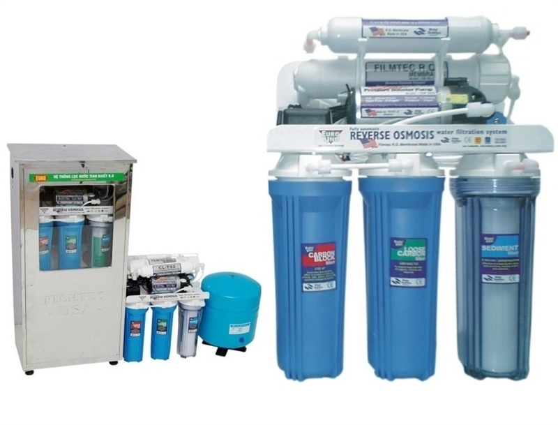 Máy lọc nước NANO UV Malaixia uống ngay 250 lít/h